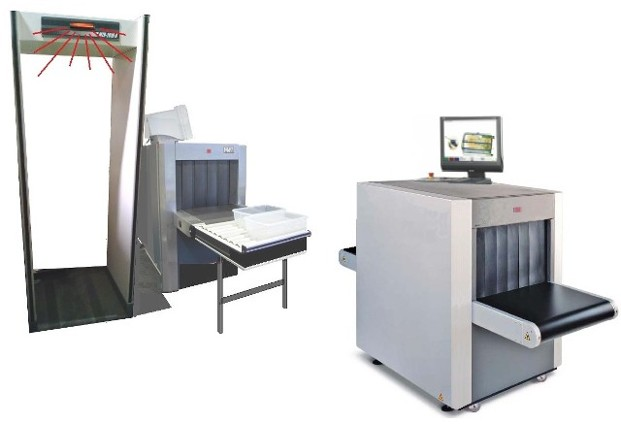 Baggage Scanner prop, X-Ray Baggage Scanner prop