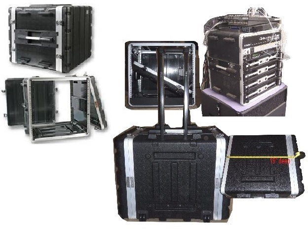 Military Electronics Props in Flight Cases