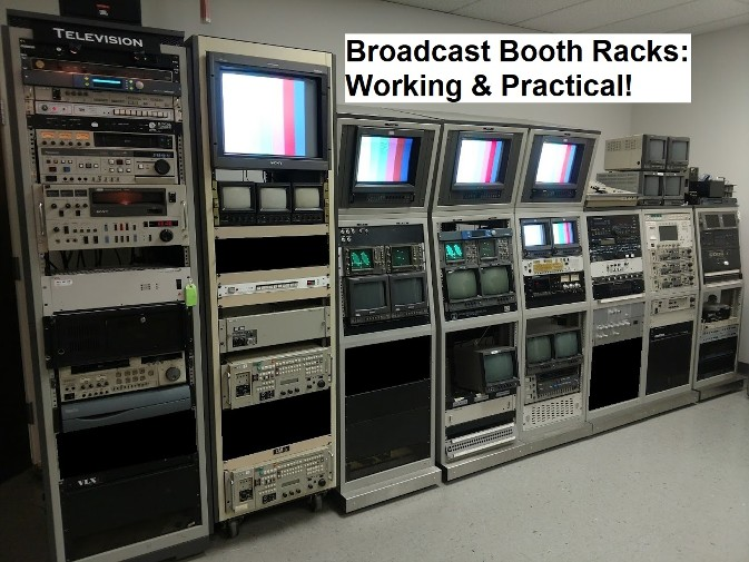 broadcast booth racks