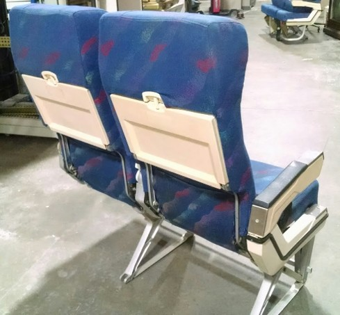 RJR Props - Airplane Seats - Vintage