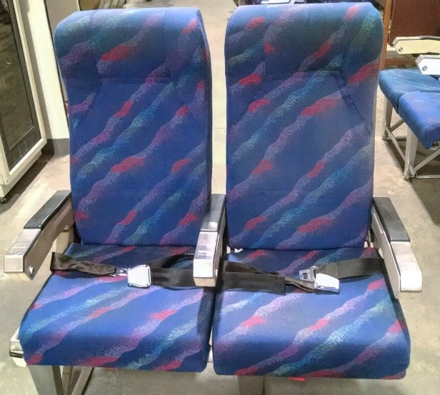 RJR Props Vintage Airplane Seats