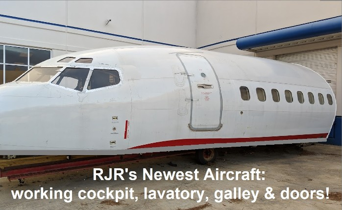RJR Props - Commercial Plane for Film Rental