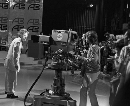 Norelco PC-70 Studio Camera on American Bandstand Show