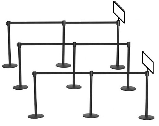 Stanchions, Stanchions for rent