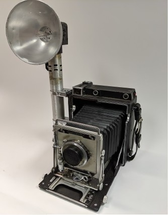 Vintage Graflex Camera Prop, Vintage Graflex Camera for rent