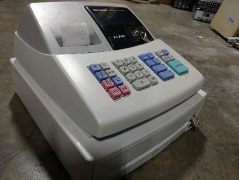 Cash Register Prop for rent, Prop cash register