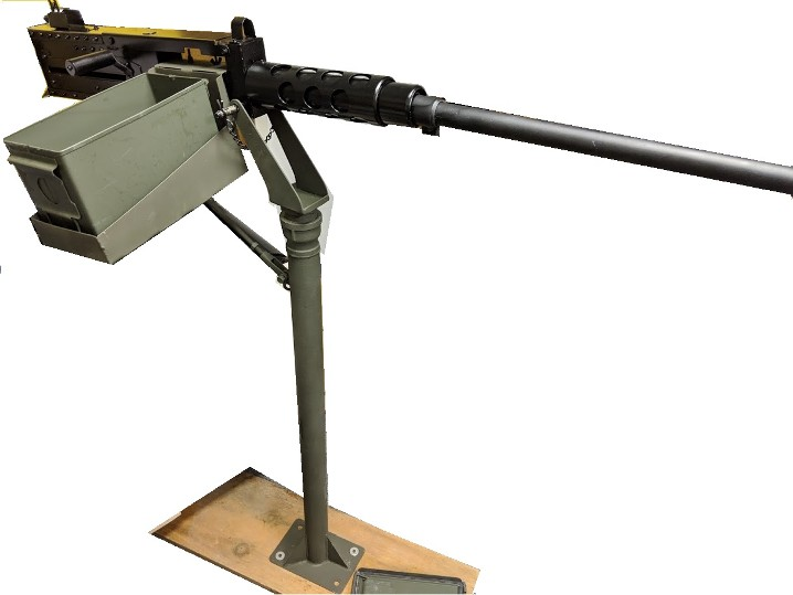 50 Caliber Machine Gun - prop gun