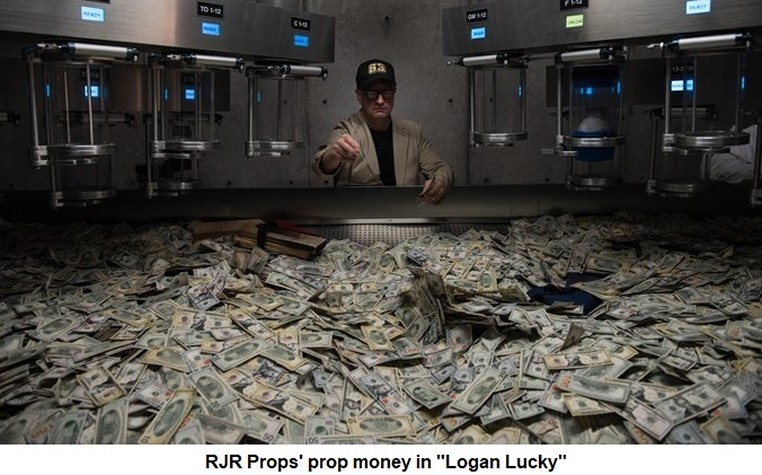 RJR Props - Money in Logan Lucky