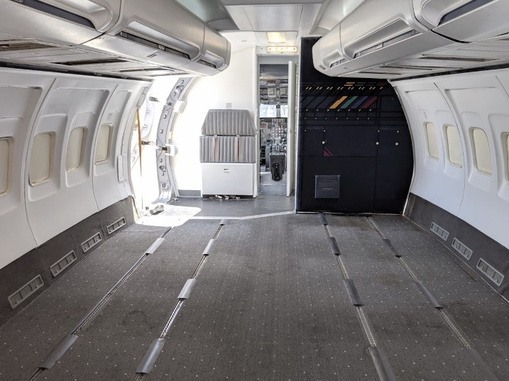 Commercial Airplane set for filming, 737 Airplane Set, Airplane Mockup, Airplane for Rent