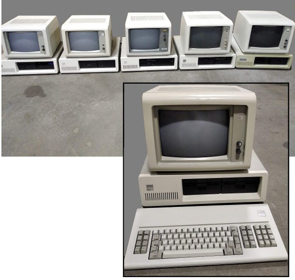 Vintage IBM PC for rent, Vintage IBM PC, Vintage PC