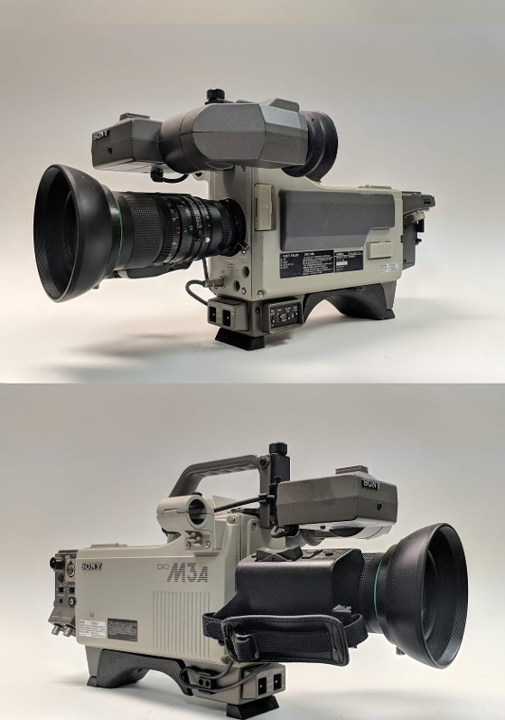 Vintage news camera prop - sony dxc-m3a camera
