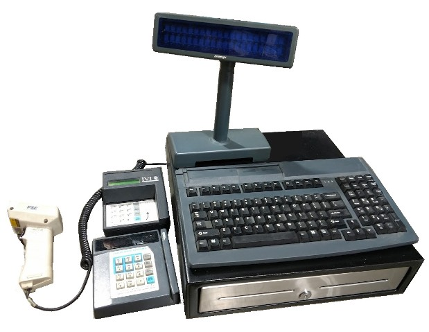 cash register prop - 1990s
